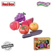 Red Box Toy Slice a Rific Fruits Playset 22145 Grape Watermelon RedBox