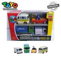 Original Tayo The Little Bus 4 Style Mini Cars Set 4 TYT117007 Lucy