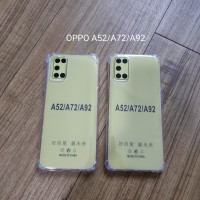 Oppo A52 A92 Anti Crack Jelly Case