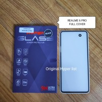Oppo Realme 6 Pro Hyper Tempered Glass 3D Full Cover