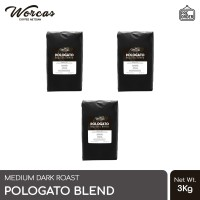 WORCAS Kopi Pologato Espresso Blend 3 Kg