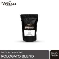 WORCAS Kopi Pologato Espresso Blend 100 Gram
