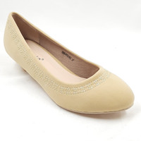 Laviola Shoes - Pantofel Shoes Wanita - 1650 FFO BEIGE