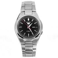 Jam Tangan Pria Seiko 5 Automatic 21 Jewels Black Dial SNK607K1