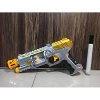 flash Sound Gun - PISTOL SALJU MAINAN ANAK Tembakan Salju