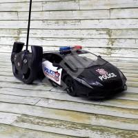Mainan remote control police patrol wagon supercar 1:14 RD578-A