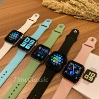 Smartwatch Fundo Pro Watch telepon Model Apple watch 5 T500 iwo 10 - Hitam