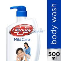 Lifebuoy Body Wash Mild Care Pump 500ml / Sabun Mandi