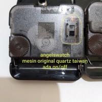 Mesin Jam Dinding Quartz 12888 14.6 MM On/Off Taiwan original