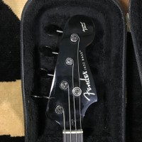 Fender Aerodyne Jazz Bass made in Japan with black hardware + Hardcase