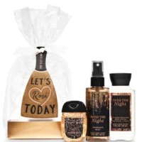 Bath and Body Works into the night mini gift set