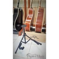 Stand Gitar, Bass - Hitam Import