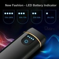Korek Api Elektrik USB Fingerprint Touch Sensor LED Screen DY-168