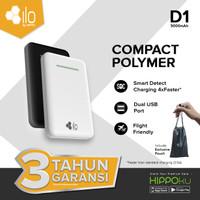 Power Bank iLo D1 5000 mAh Smart Detect Charging - Putih