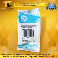 Tinta HP 680 Black ORIGINAL Katrid HP 680 HP680 Catridge HP F6V27AA