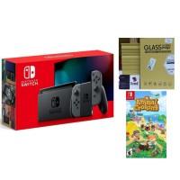 Nintendo Switch V2 Gray Animal Crossing Bundle