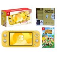 Nintendo Switch Lite Yellow Animal Crossing Bundle