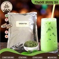 Bubuk Greentea/Powder Rasa Greentea/Greentea powder Premium 1 Kg