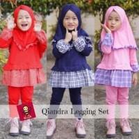 Qiandra Legging Set - Setelan Baju Muslim Anak - eLbi