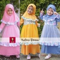 Safwa Dress - Baju Muslim Anak - Dress Muslim Anak - eLbi