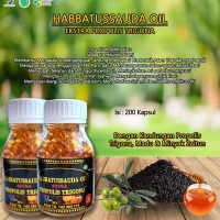 EXTRAFIT Kapsul Minyak Habatussauda Oil EXTRA Propolis Trigona isi 200