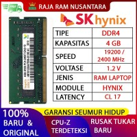 RAM LAPTOP HYNIX DDR4 4GB 2400 MHz 19200 ORI GAMING RAM NB DDR4 4GB