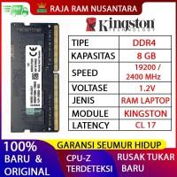 RAM LAPTOP KINGSTON DDR4 8GB 2400 MHz 19200 ORI GAMING RAM NB DDR4 8GB