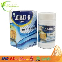 Albuplus G | Albu G PLus Kapsul Minyak Ikan Gabus