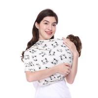 Gendongan Bayi Geos Motif Baby Sling Fleece - Cat
