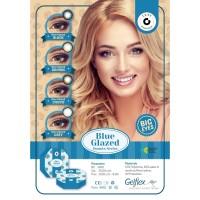 Blue Glazed normal minus s/d 600 Softlens 15 mm