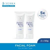 [Twinpack] SENKA Perfect White Clay 50g