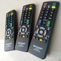 Remote SHARP LED TV Tabung DIJAMIN 100% Original
