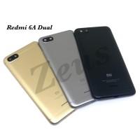 Backdoor Tutupan Baterai Back Casing Xiaomi Redmi 6A Dual Sim - Biru