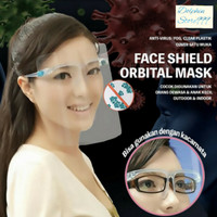 Face Shield Kacamata Pelindung Wajah Anti Droplet & Anti Fog