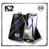 [TEMPERED GLASS 5D] warna K2 PREMIUM QUALITY HUAWEI Y6 2018