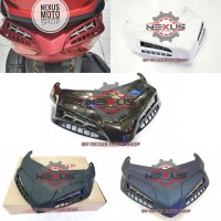 ducktail mhr nmax new sirip belakang nmax 2020 cover stop new nmax MHR