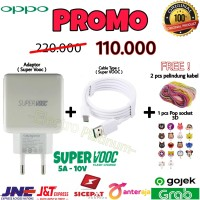 ORIGINAL Charger Casan OPPO 5A Super Fast Charging Super VooC Type C