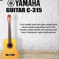 GITAR YAMAHA CLASIC GUITAR KLASIK C 315/C315/C-315 ORIGINAL