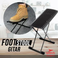 Alat Musik Foot Stool Gitar / Pijakan Kaki / Injakan Kaki / Guitar Foo