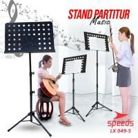 Alat Musik Stand Book Kecil Stand Partitur Untuk Buku Musik 049-5