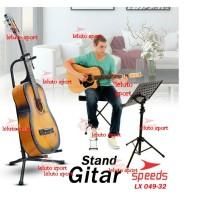 Stand Gitar Bass Ukulele Elektrik Dudukan Gitar Penyangga Gitar 094-32