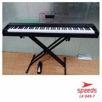 Alat Musik Stand Keyboard Double Kaki Keyboard Untuk SemuaPiano 049-7