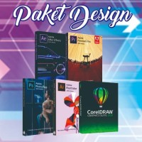 Paket Design DVD Adobe dan Corel 2020
