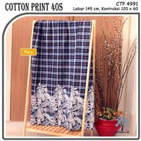 MUKA IG bahan kain cotton katun kemeja murah per 50 yard cat 10