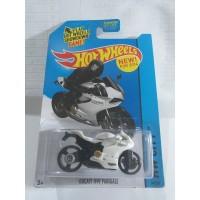 HOT WHEELS MOTOR DUCATI 1199 PANIGALE PUTIH
