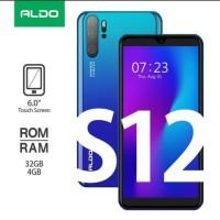Aldo S12 4/32 HP Murah Ram 4GB Internal 32GB Garansi Resmi