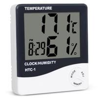 thermometer digital hygrometer HTC 2 alat pengukur suhu ruangan