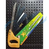 Xp Tool Gergaji Set 5 Rupa Gergaji Multifungsi Gagang Kayu ATS Murah