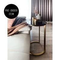 CARRA Gordi Table - Dia 42 x 67 cm (Marble Side Table) / Meja Marmer