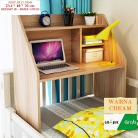 Meja Kerja Lesehan BEST Mini Desk Multifungsi 78.4*40*76cm - 2 Warna